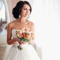 Прическа и макияж Anuta Ivanova