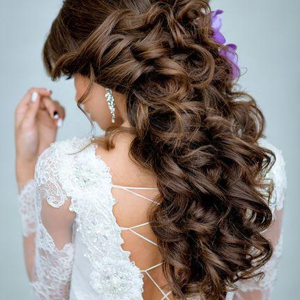 Причёски для средних и длинных волос