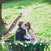 Оформление свадебной фотосессии.