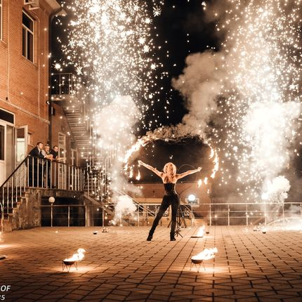 Фаер шоу Blaze