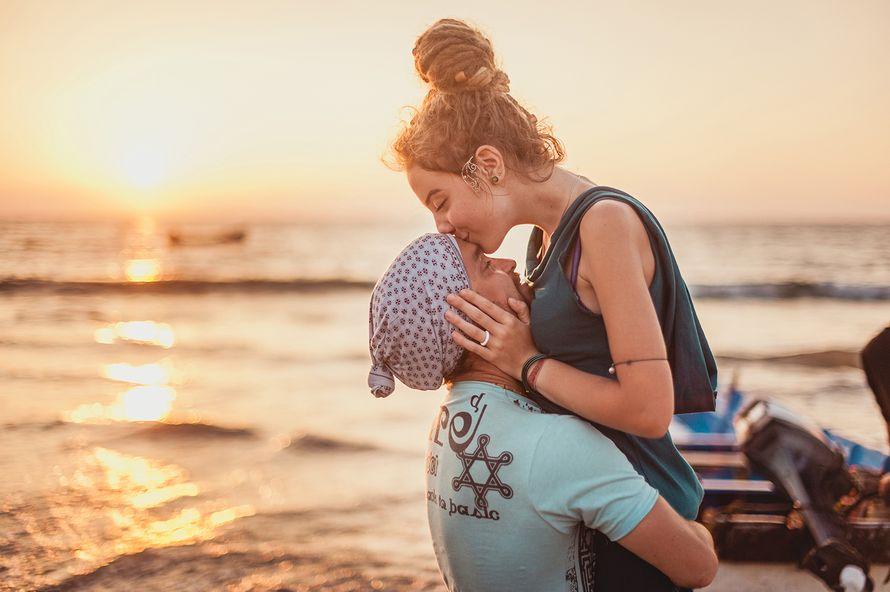 Она и он на пляже фото 85-141