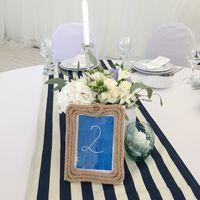 Стол гостей Морская свадьба 22 августа 2015