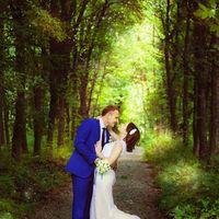 летняя свадебная прогулка