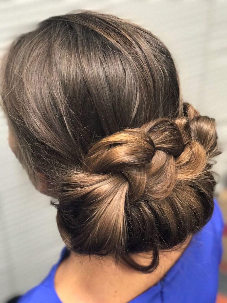 Прически с элементами плетения средние волосы фото