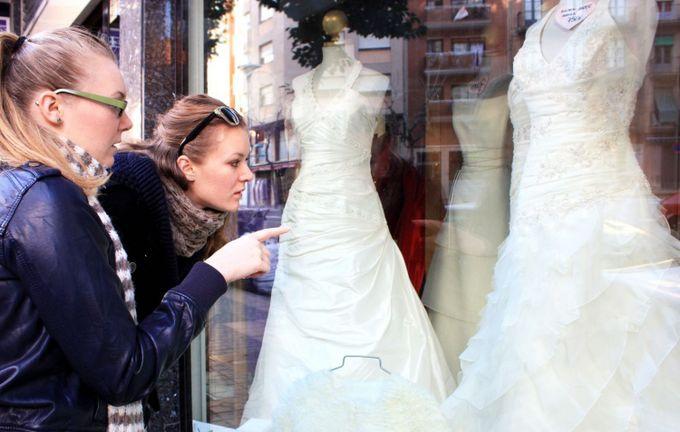 выбор свадебного салона
