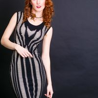 """Восхитительное платье """"Gina Bacconi"""", производство Италия-Англия"""