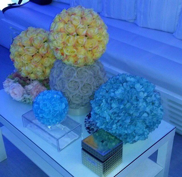 боллы из цветов! прекрасное украшение! - фото 3665835 Ателье цветов FlowersMaslik