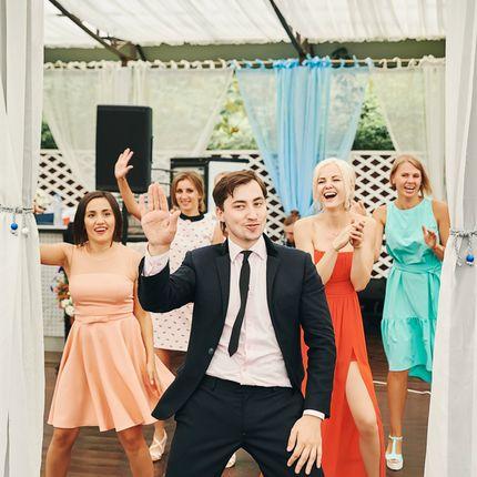 Проведение свадьбы в будние дни и воскресенье (ведущий + DJ), 6 часов