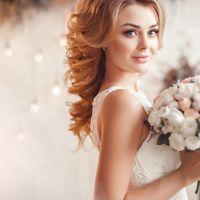 Свадебная прическа и макияж Людмила Широкова