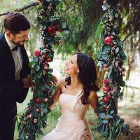 Бохо шик. Свадьба на природе. Свадебный стилист Света Март. Романтическая вадебная прическа, локоны, нежный свадебный макияж