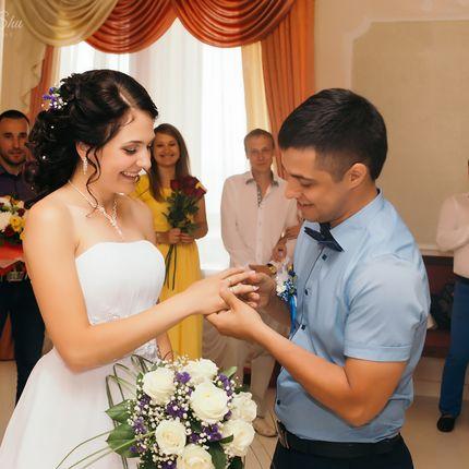 Фотосъемка регистрации брака