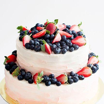 Торт со свежими ягодами, цена за 1 кг