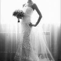 Екатерина в платье EULALIA от Yolan Cris