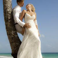 Татьяна в свадебном платье SONIA от Yolan Cris