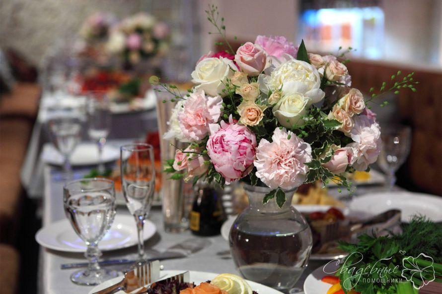 Композиции из цветов на столы гостей к мужскому юбилею, цветов советской ижевск