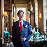 Свадебная фотосессия в ресторане Пушкин.