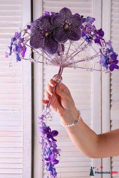 Как сделать каркас для букета невесты