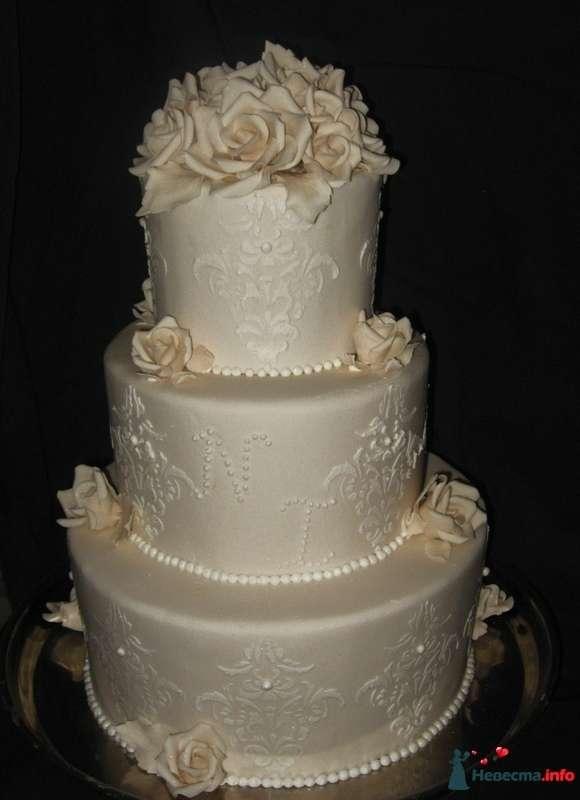 Фото 334120 в коллекции A-La-Cake! Эксклюзивные торты ручной работы от Надежды Алябьевой - Надежда Алябьева - свадебные торты