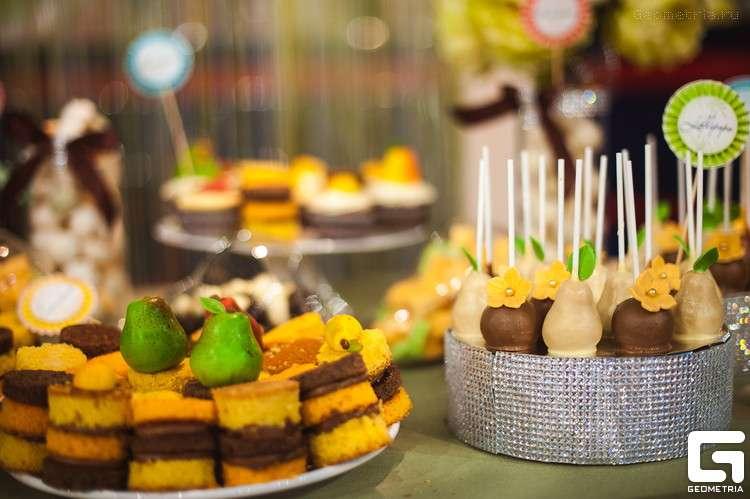 открытые мини тортики - фото 1773349 Надежда Алябьева - свадебные торты