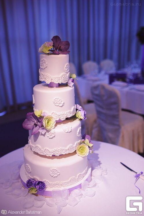 Фото 2507855 в коллекции A-La-Cake! Эксклюзивные торты ручной работы от Надежды Алябьевой - Надежда Алябьева - свадебные торты