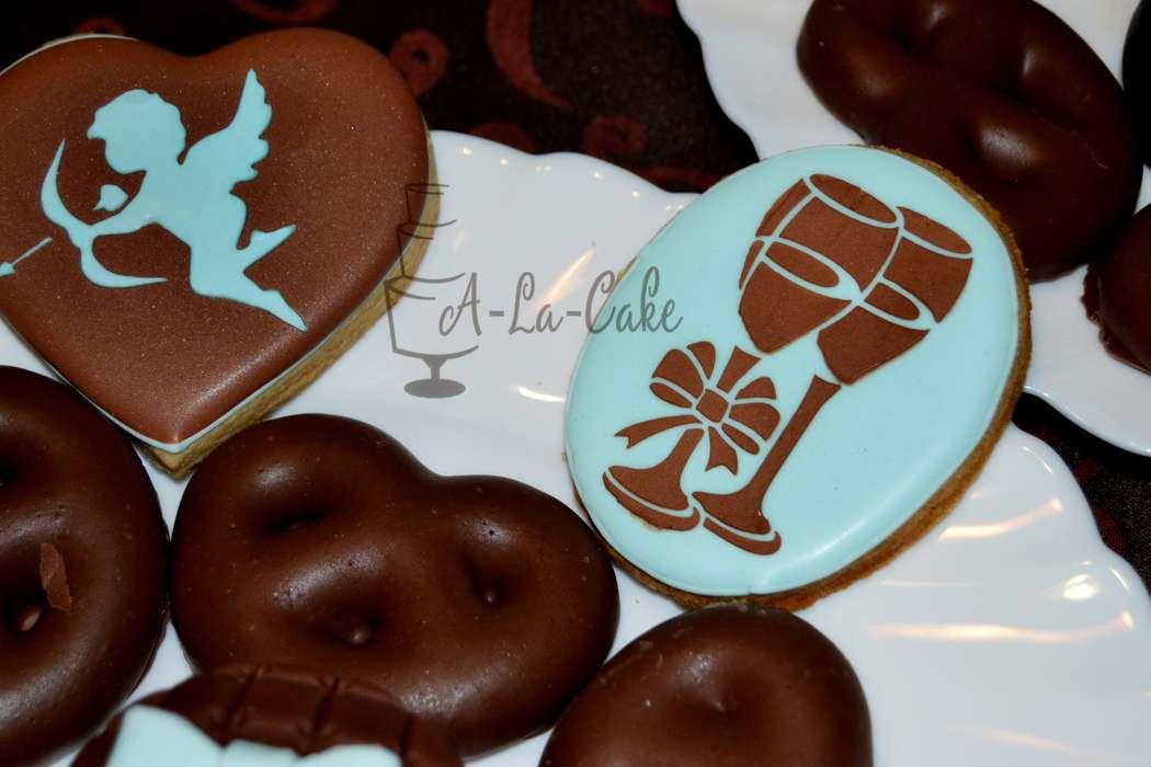 Фото 2507955 в коллекции Candy Bar- маленькие сладости! - Надежда Алябьева - свадебные торты