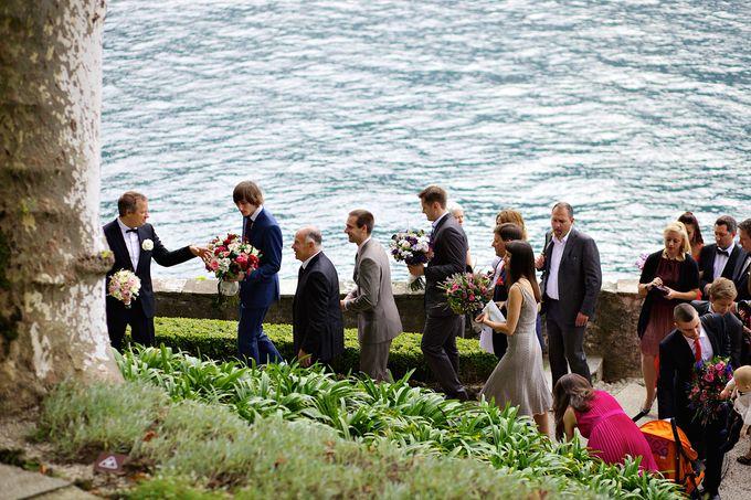 Свадьба на Комо, Италия