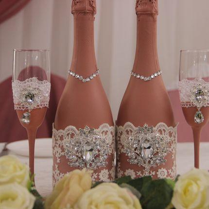 Декор свадебных аксессуаров