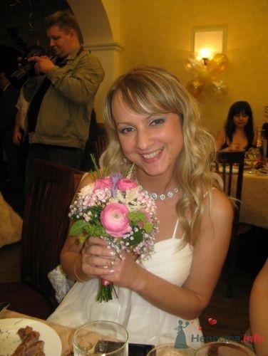 счастливая обладательница букета-дублера)))  - фото 22920 Horsy