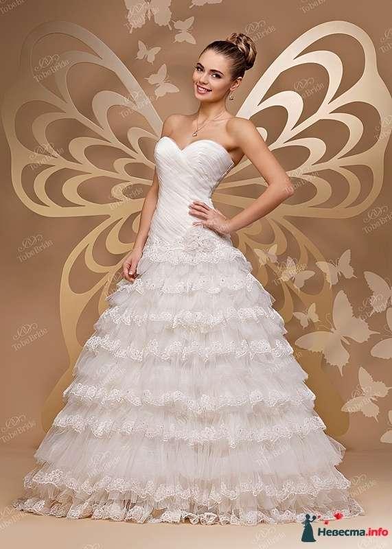 """Фото 444746 в коллекции Свадебные платья на заказ. - Свадебный салон """"Grace"""""""