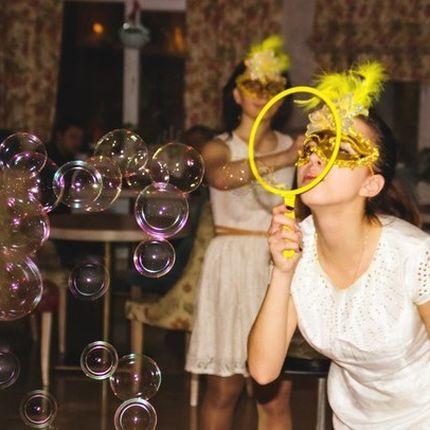 шоу мыльных пузырей Каруселька