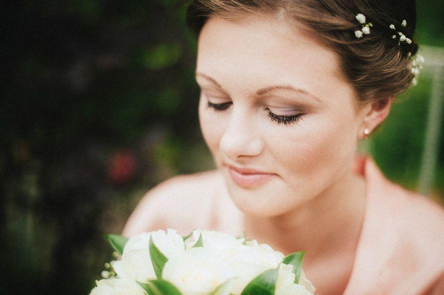 Фото 11302722 в коллекции Свадебные прически и макияж 2015-2016г - Стилист-визажист Марина Ткачева
