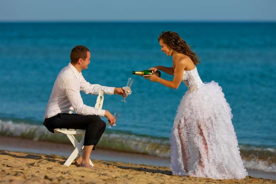 Фото 542964 в коллекции Морская свадебная фотосессия - Фотограф Николай Хорьков