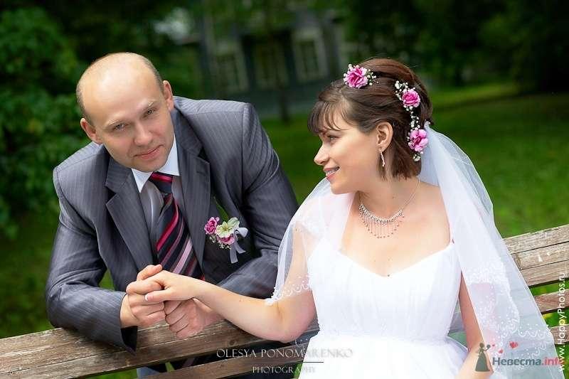 Фото 29118 в коллекции Свадебные прически с живыми цветами - Визажист-стилист свадебного образа Лариса Костина