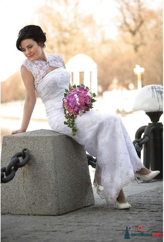 Фото 101978 в коллекции Мои Невесты - Визажист-стилист свадебного образа Лариса Костина