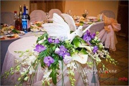 Композиция с голубями - фото 28879 Цветочная мастерская Флорины