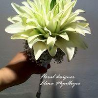 Лилимелия -рукотворный цветок,собранный из лепестков лилии
