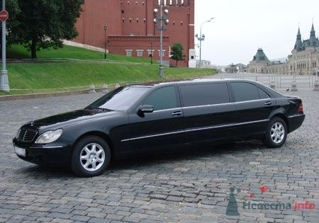 Mersedes W 220  Pullman - фото 2770 Vip Limousine - аренда авто
