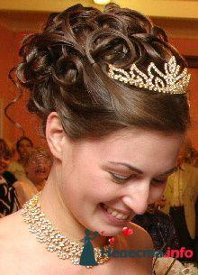 Фото 95437 в коллекции Свадебные прически (фотографии сняты не мной)  - Wamira