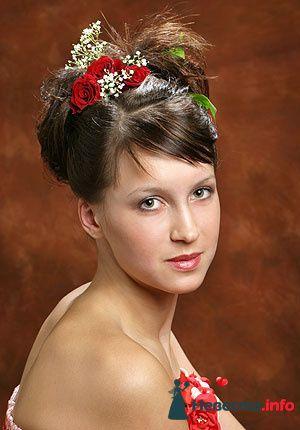 Фото 95509 в коллекции Свадебные прически (фотографии сняты не мной)  - Wamira