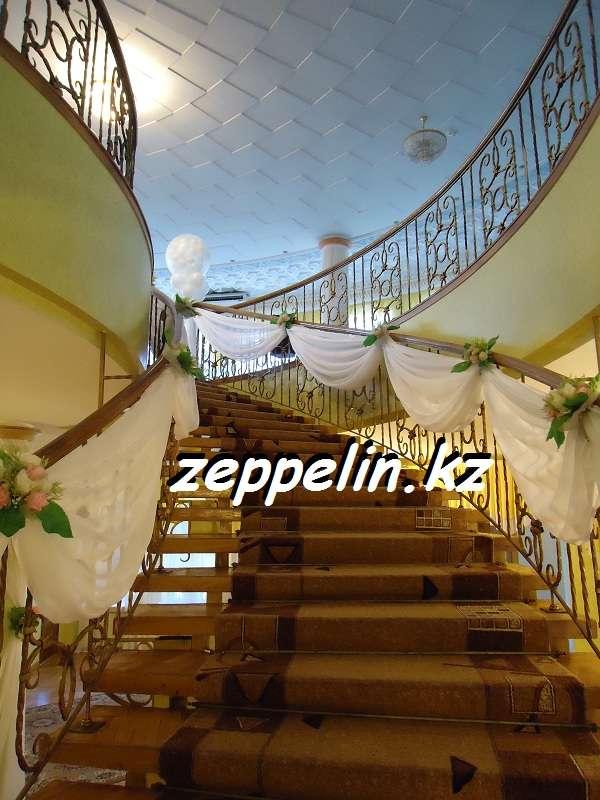 Оформление лестници, перил - фото 513791 Корпорация праздников - студия оформления