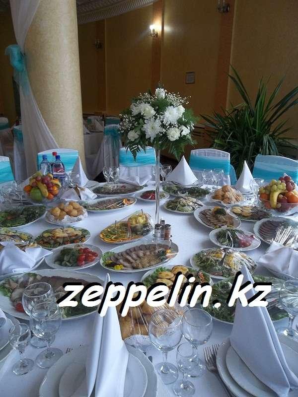 Оформление стола , торжественного зала в Алматы - фото 2055998 Корпорация праздников - студия оформления