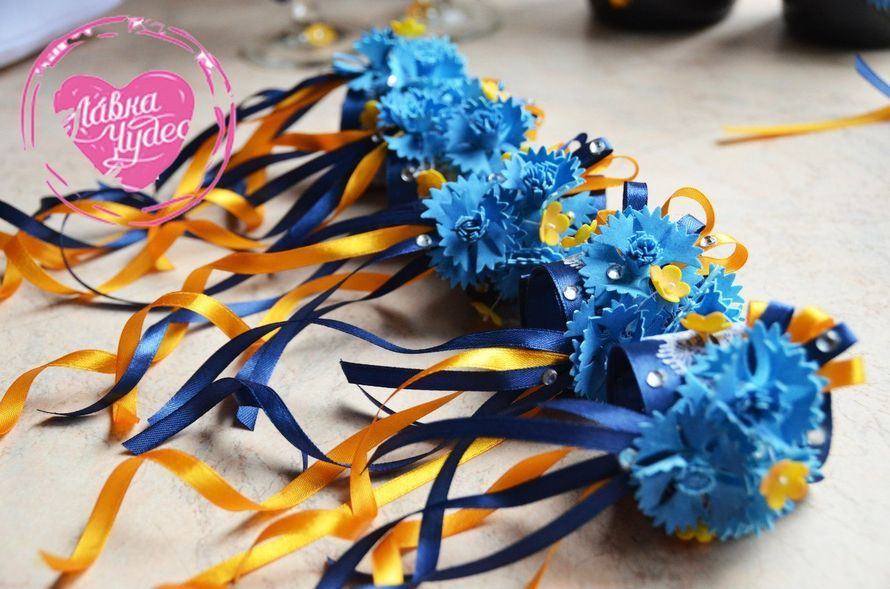 Браслеты для подружек невесты - фото 12996688 L.chudes - студия декора и флористики