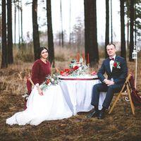 Виолетта & Артем.  Гранатовая свадьба.