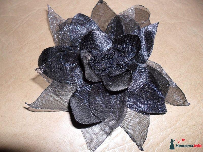Фото 271073 в коллекции Цветы из ткани - Евсеева Людмила - cвадебные аксессуары