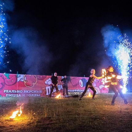 Огненно-пиротехническое шоу RockStyle Premium