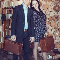 """Фотостудия """"Beze@. фотограф Казаков Евгений. А вот и первая пара )победители нашего конкурсаhttp:// который состоялся 14 февраля . Юля и Сережа."""