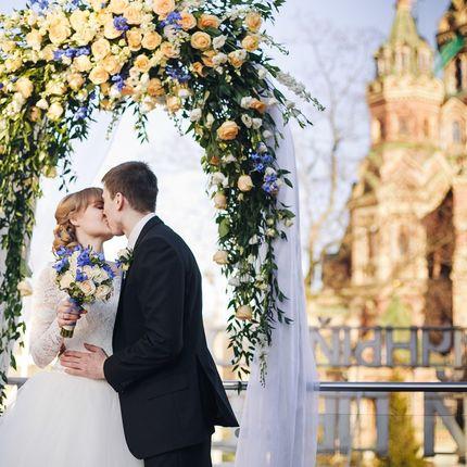 Оформление церемонии выездной регистрации брака
