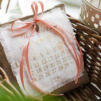 Подушечка-календарь для колец