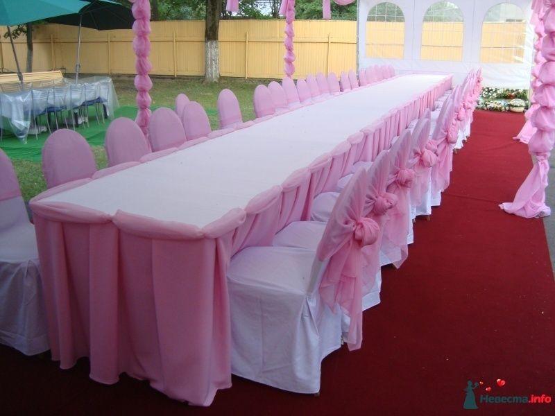 Драпировка свадебного стола своими руками пошагово 62
