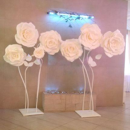 Большие ростовые цветы - аренда